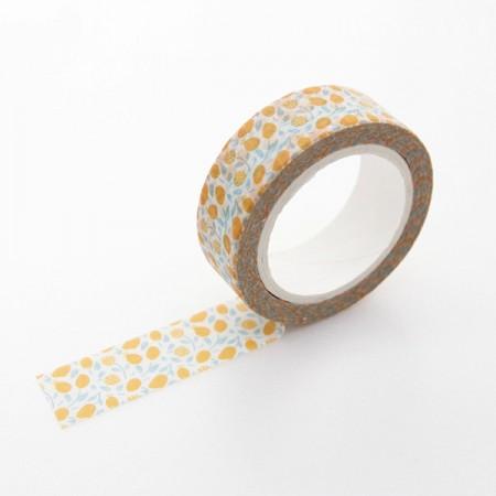 设计纸美纹纸胶带蜂蜜柠檬TA064