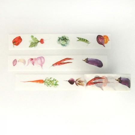 设计蔬菜纸纹胶带TA089