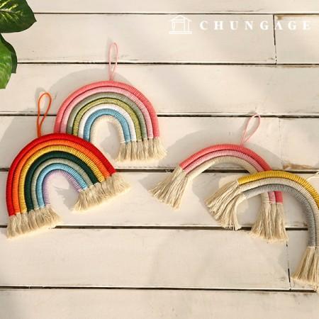 花边彩虹壁挂式4种
