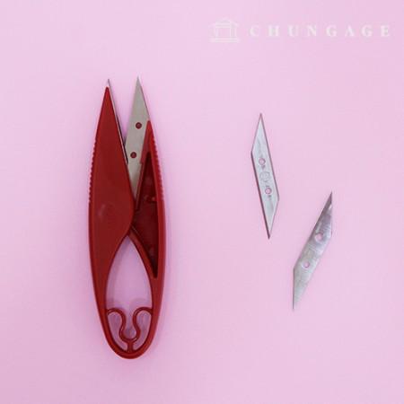 刀片更换高品质的凿子剪刀抓地力好的缝纫剪刀