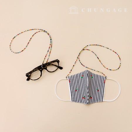 国内生产珠串膜膜膜膜膜束带/束带鞋带防丢线眼镜线2成品