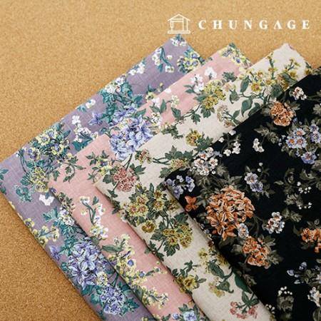 亚麻布广泛的布料棉,麻,大葱4种类型