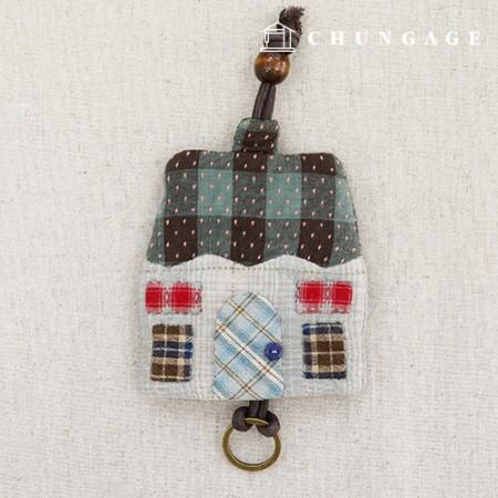 被子包装DIY套件拉链钥匙圈CH-612675