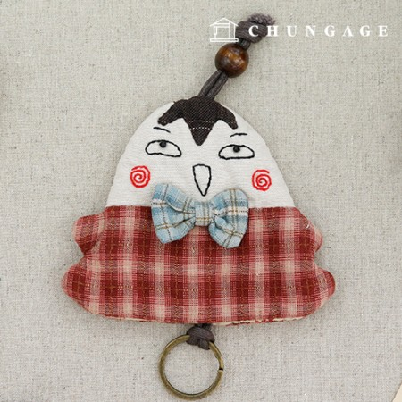 被子包装DIY套件蝴蝶领带钥匙圈CH-612671