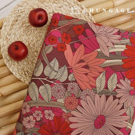 红色非洲菊带高档双面保护加厚防水袋支撑