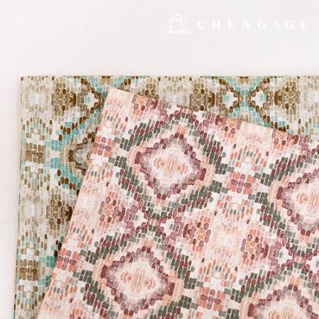 亚麻织物宽棉亚麻亚麻布Aztec 2种