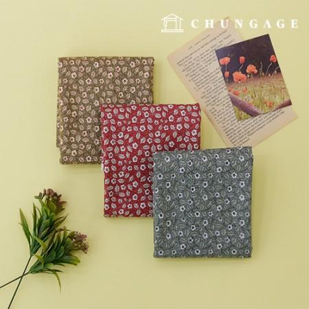 20种棉织物秘密花园,三种类型