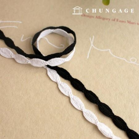 面膜项链蕾丝线Torshon 034捻线面膜制作表带的材料2种