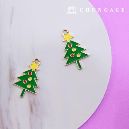 面具项链饰品jin属魅力饰品吊坠圣诞树