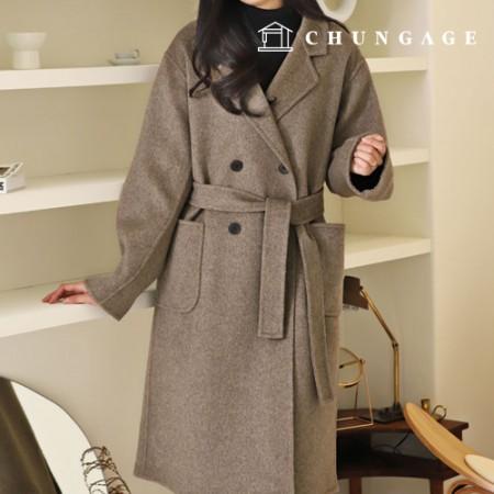 服装款式女手工呢呢子大衣冬天呢子大衣[P1468]