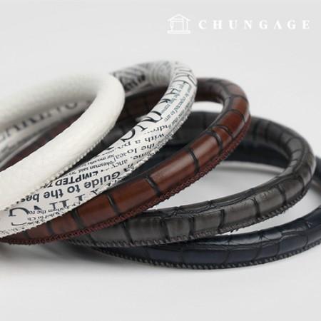 提手独特的O型戒指人造皮革提手圆形提手5种
