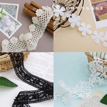 蕾丝特价化工蕾丝棉线蕾丝花朵刺绣蕾丝珠子蕾丝收藏展