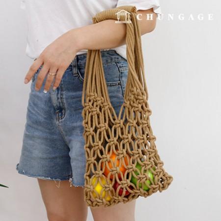 花边网袋制作DIY套件初学者包装套装