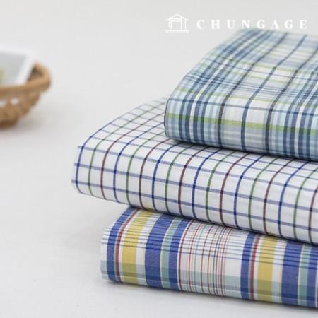 棉织物,格力织物,色织40微风,3种