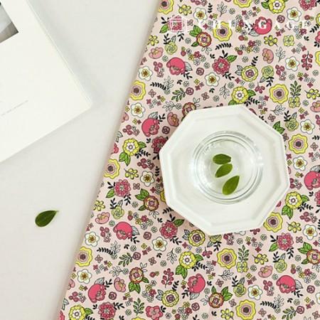 防水布Selene花聚防水布2种大花纹