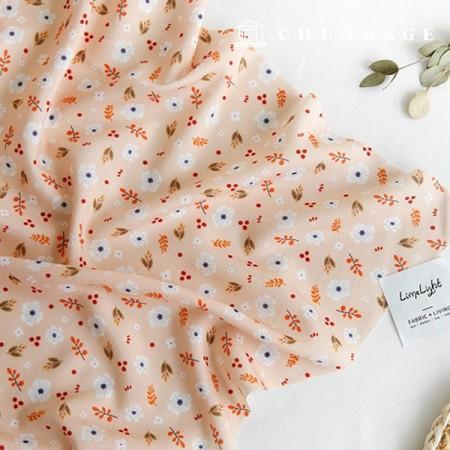 保利面料Zirmen Wide女衬衫布料发烧橙012