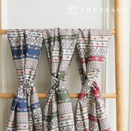 涤纶织物Zirmen Wide女衬衫布料大丽花,3种