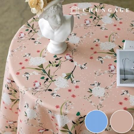 涤纶面料Zirmen Wide女衬衫布料花朵盛开2种