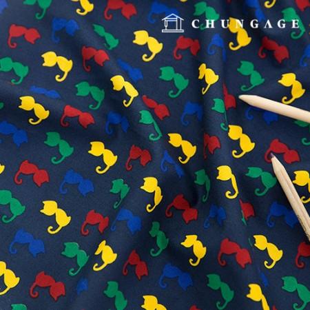 20棉织物多彩猫