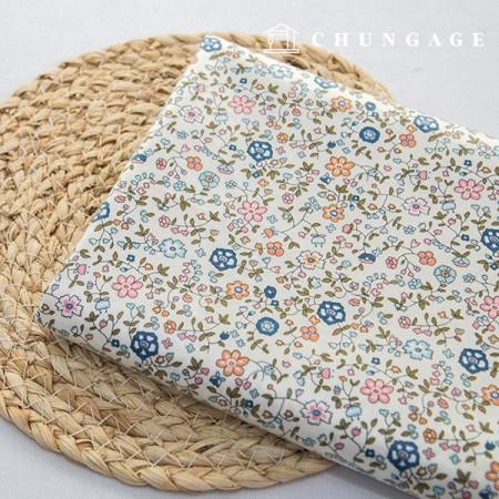 防水织物层压无毒TPU防水布在盛开的花朵图案