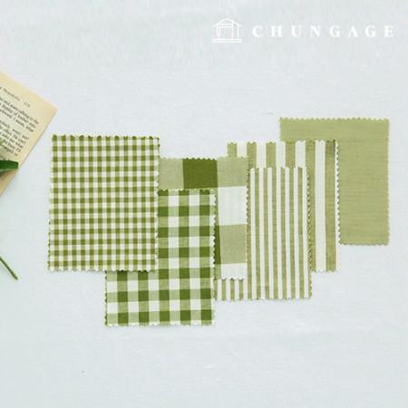 全棉渐变布20水色染色终止的平纹条纹方格格子布6种