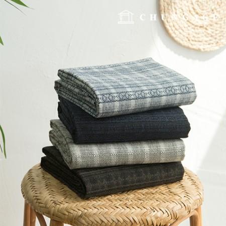 棉质提花民族风棉布,4种