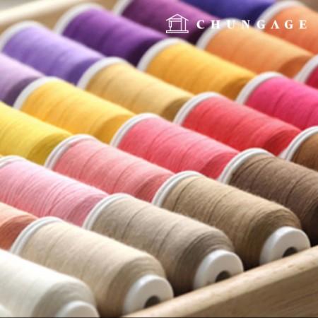 Coresa缝纫线缝纫线Athena Prime Lara线家用工业辅料一般牛仔裤缝纫线包线套装收藏展览