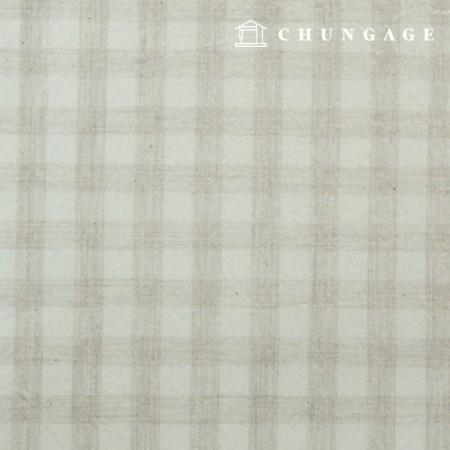 防水层压复合无毒TPU防水布广色格子布自然色412-1