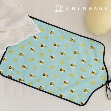 情感露营面料像棉一样的篷布显着蜜蜂冒险T018