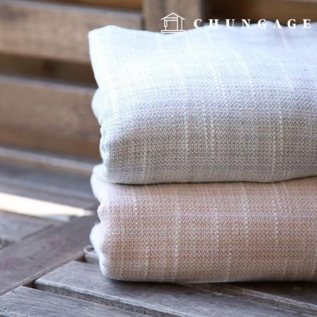 广泛的亚麻麻粗斜纹布平原2种类型