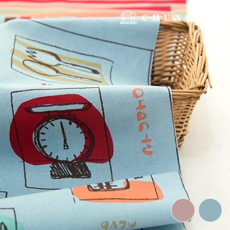 围裙剪纸面料牛津棉围裙制作早午餐 2 种 210517-2