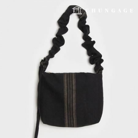 包袋图案 褶皱百褶单肩包 日常包袋图案 P1363