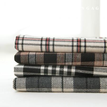 检查织物棉混纺纱染色检查乳黑色 4 种类型