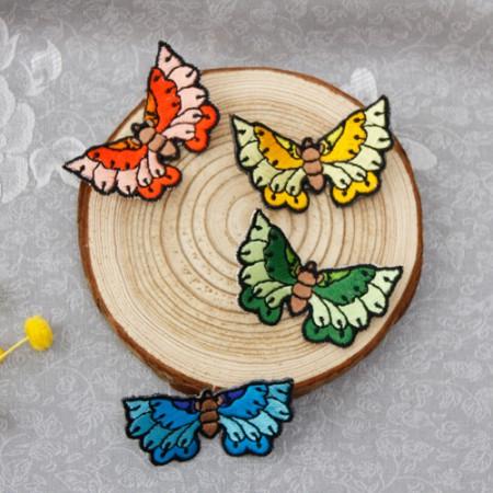 韓服装飾立体刺繍スッキリ蝶4種韓服部材