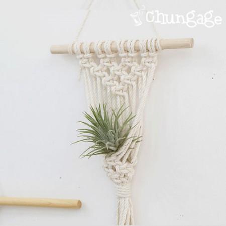 マクラメ材料マクラメ糸モクボンウッド棒木の棒(2種)