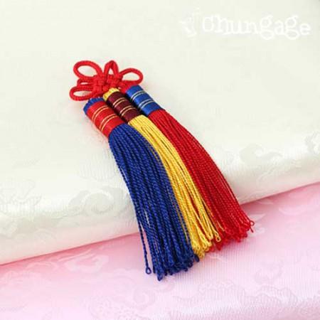 韓服子供ジョバウィ装飾3色の結び目装飾