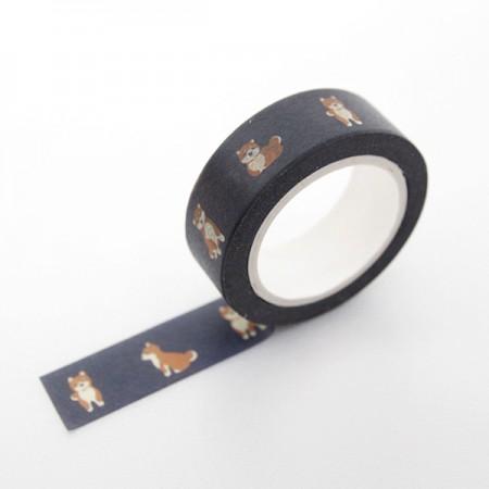 デザインペーパーマスキングテープフレンドリードッグTA062