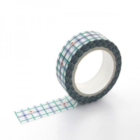 デザインペーパーマスキングテープキッチリチェックTA065