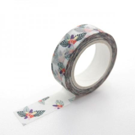 デザインペーパーマスキングテープ牡丹かTA068