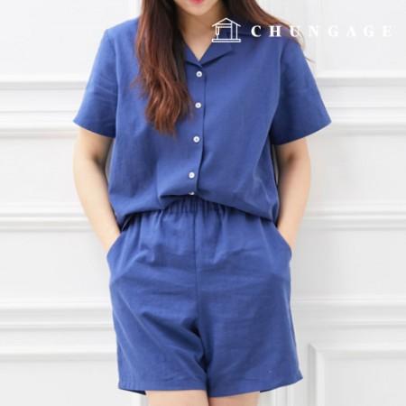 服のパターン女性上下セット衣装パターン[P1095]