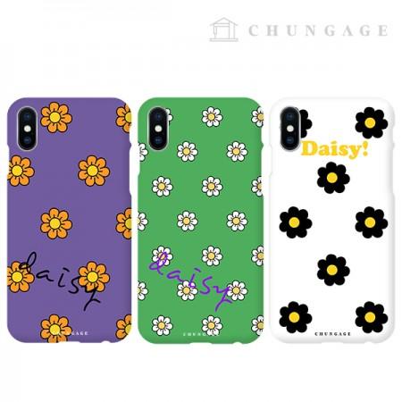 携帯電話ケースキッチリデイジー(3種)CA055、iPhoneギャラクシー全機種フォンケース