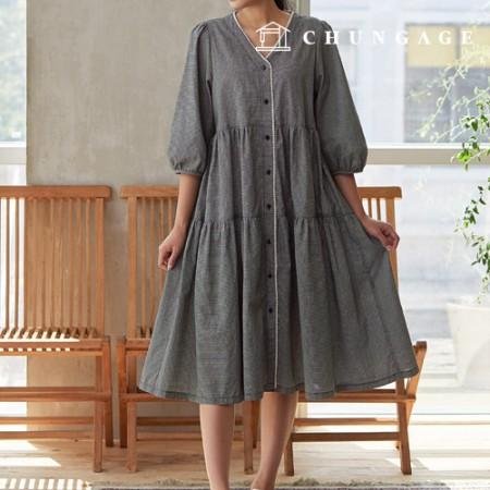 服のパターンの女性のワンピースの衣装パターン[P1426]