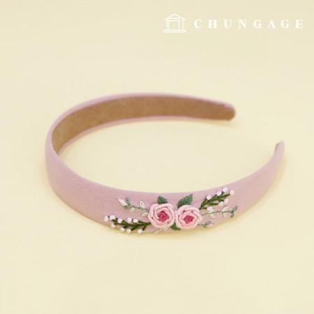 フランスの刺繍パッケージお花DIYキットフルールバンドCH-512570、自宅でできる趣味