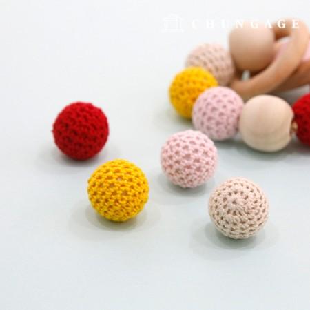 マクラメ材料編みビーズ編みボール