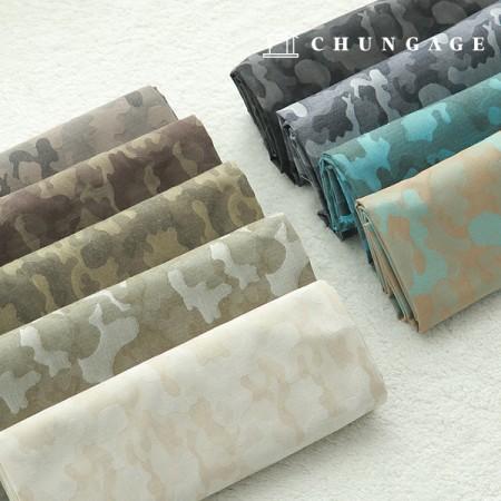 大幅綿混20数ぼかしジャガードミリタリー9種