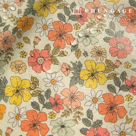 防水ラミネート非毒性TPU防水布ソイェフラワー花柄