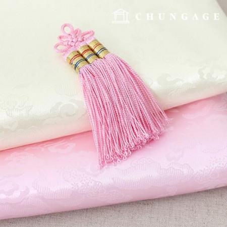 韓服子供ジョバウィ装飾ピンクの結び目装飾
