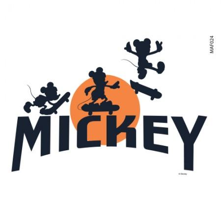衣類の転写紙飛べミッキー2エコバッグリフォーム熱転写フィルムステッカーMAF024