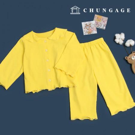 服のパターン子供のパジャマセットホームウェアパジャマパターンP1548