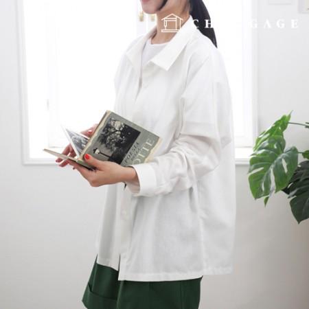 服のパターンルーズフィット女性のシャツエイ袖シャツスーツシャツベーシックシャツパターンP1535